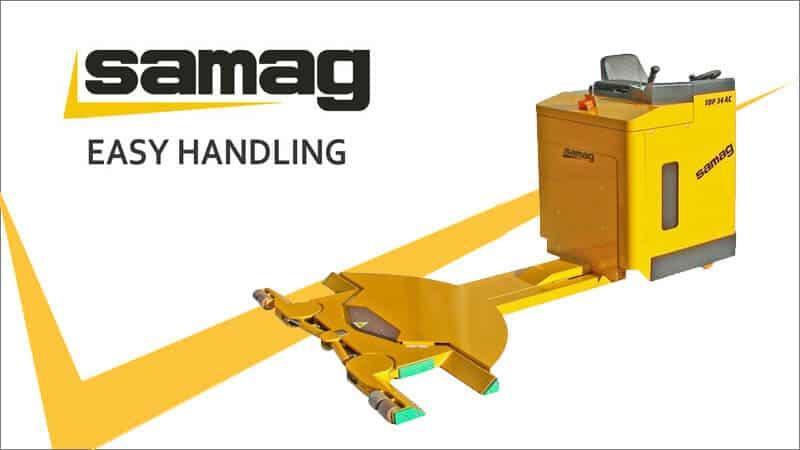 Les chariots Samag en versions spéciales pour D3M